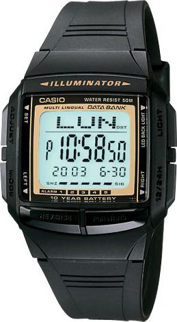นาฬิกา คาสิโอ Casio Data Bank รุ่น DB-36-9A