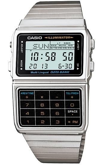 นาฬิกา คาสิโอ Casio Data Bank รุ่น DBC-611-1D