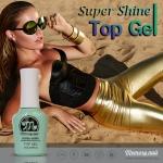 Top coat gel Memory nail Super Shine สีเจลสำหรับเคลือบเงา เมมโมรี่เนล