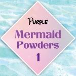 ผงเกร็ดนางเงือก Mermaid Powder #1 Purple สีเหลือบม่วง