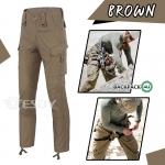 กางเกงขายาวยุทธวิธี Taro สีน้ำตาล(Brown)