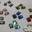 เพชรติดเล็บ สี่เหลี่ยมผืนผ้า10 มิล คละสี กล่องกลมเล็ก thumbnail 4