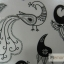 YM-K083 สติ๊กเกอร์สักแฟชั่น sticker tattoo ลายนกยุง โบ15.5x10.8 cm thumbnail 8