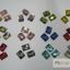 เพชรติดเล็บ สี่เหลี่ยมผืนผ้า10 มิล คละสี กล่องกลมเล็ก thumbnail 1