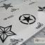 YM-K025 สติ๊กเกอร์สักแฟชั่น sticker tattoo ลายดาว15.5x10.8 cm thumbnail 17