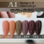 สีเจล AI ชุด Coffee Pollsh มี 6ขวด โทนสีน้ำตาล พร้อมแถมกรอบรูปในชุด thumbnail 1