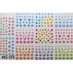 สติ๊กเกอร์ติดเล็บ แผ่นใหญ่ รหัส MS-05