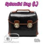 กระเป๋ากล้องแฟชั่นเกาหลี Splendid Bag (L) สีดำ (Pre Order)