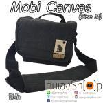 กระเป๋ากล้อง Mobi Canvas Size M สำหรับกล้อง Mirrorless สีดำ