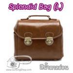 กระเป๋ากล้องแฟชั่นเกาหลี Splendid Bag (L) สีน้ำตาลอ่อน (Pre Order)