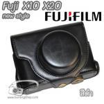 เคสกล้อง Fujifilm X10 X20 New Style สีดำ