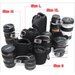 ซองใส่เลนส์กล้อง กระเป๋าใส่เลนส์อย่างหนา ห้อยเข็มขัดได้ Lens Pouch Size S