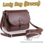 กระเป๋ากล้องผู้หญิง Lady Bag สีน้ำตาล