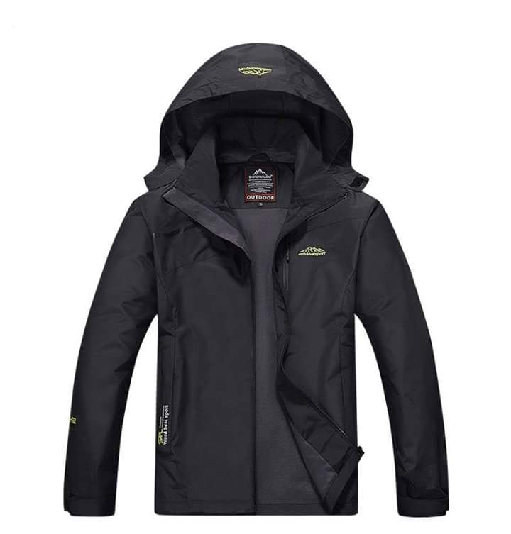 Jacket Outdoor S15 สีดำ
