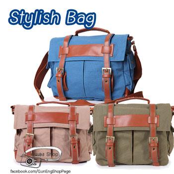 กระเป๋ากล้องแฟชั่น Stylish Bag มี 3 สี