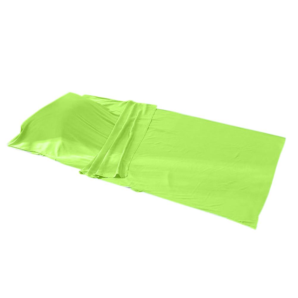 ถุงนอนผ้า cotton (เบาเล็กพิเศษ) สีเขียว