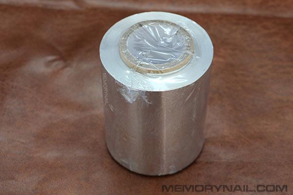 ฟอร์ยห่อเล็บ ม้วนใหญ่ น้ำหนัก 500 กรัม
