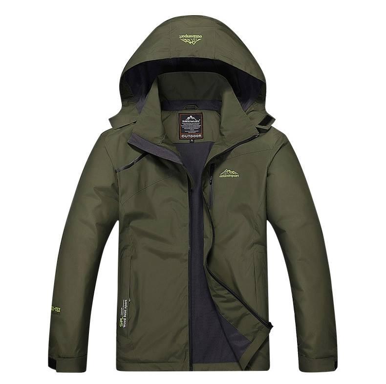 Jacket Outdoor S15 สีเขียว
