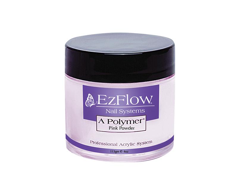ผงอะคริลิค สีชมพูใส,ผงอะคริลิค สีชมพู,อะคริลิค Ezflow,Polymer Powders