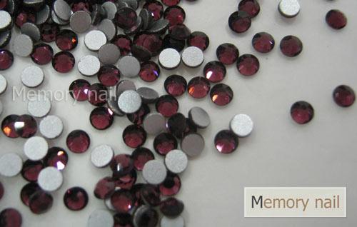 เพชรชวาAA สีม่วง ขนาด ss10 ซองเล็ก บรรจุประมาณ 80-100 เม็ด