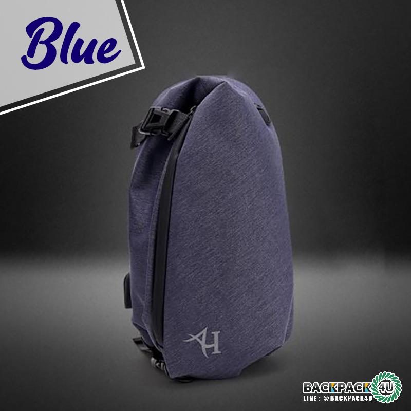 กระเป๋าสะพายกันน้ำ Arctic Hunter (สีน้ำเงิน)