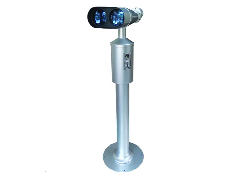 กล้องส่องทางไกล สองตา หยอดเหรียญ 25x100 (เหรียญ 10 บาทไทย)