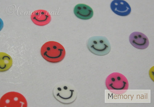 Fimo,ฟีโม่,ฟีโม่ติดเล็บ,ฟีโม่ลายหน้ายิ้ม,Fimoติดเล็บ,ฟีโม