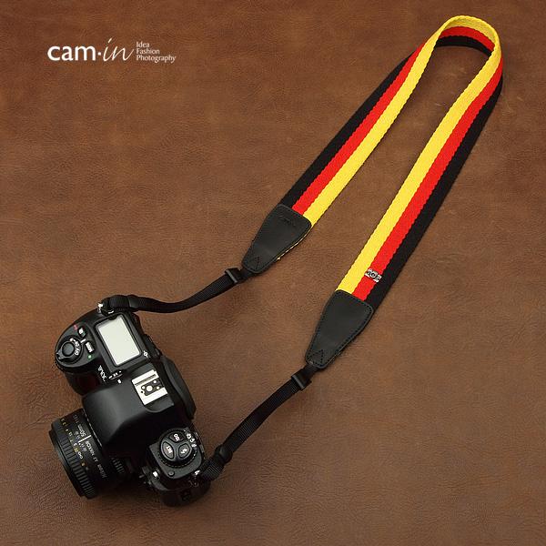 สายคล้องกล้องลายธงชาติเยอรมัน cam-in Pride of German