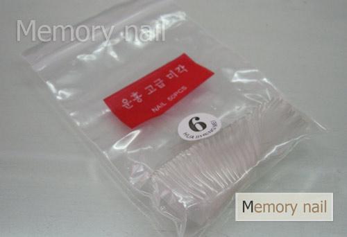 เล็บ PVC เต็มเล็บ สีใส แบบถุง,เล็บปลอม,เล็บPVC,เล็บสีใส