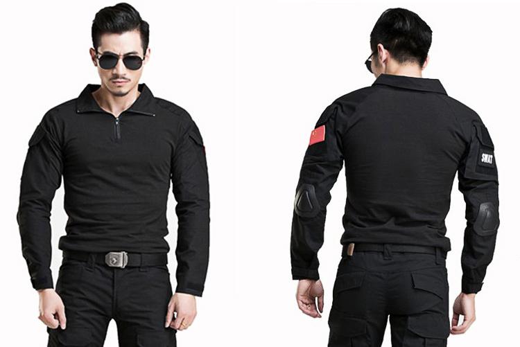combat suit รุ่น C-007 สีดำ