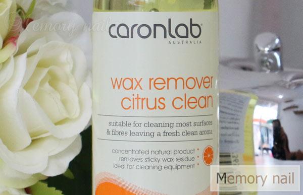 Wax Remover Citrus Clean, น้ำยาทำความสะอาด เครื่องมือแวกซ์, แว๊กซ์, น้ำยาเช็ดแว๊กซ์, แว๊กซ์ขน, เช็ดอุปกรณ์แว๊กซ์ขน