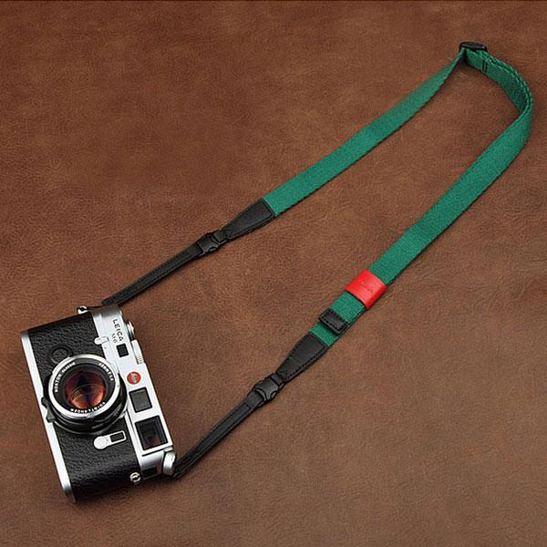 สายคล้องกล้อง รุ่น Universal - กล้อง Mirrorless กล้องฟรุ้งฟริ้งและกล้องเล็ก สีเขียวสว่าง