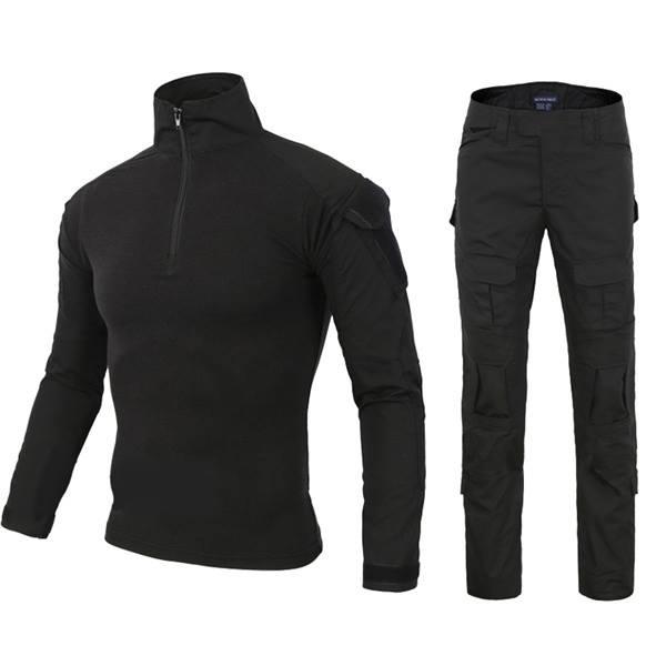 ชุดคอมแบท สีดำ