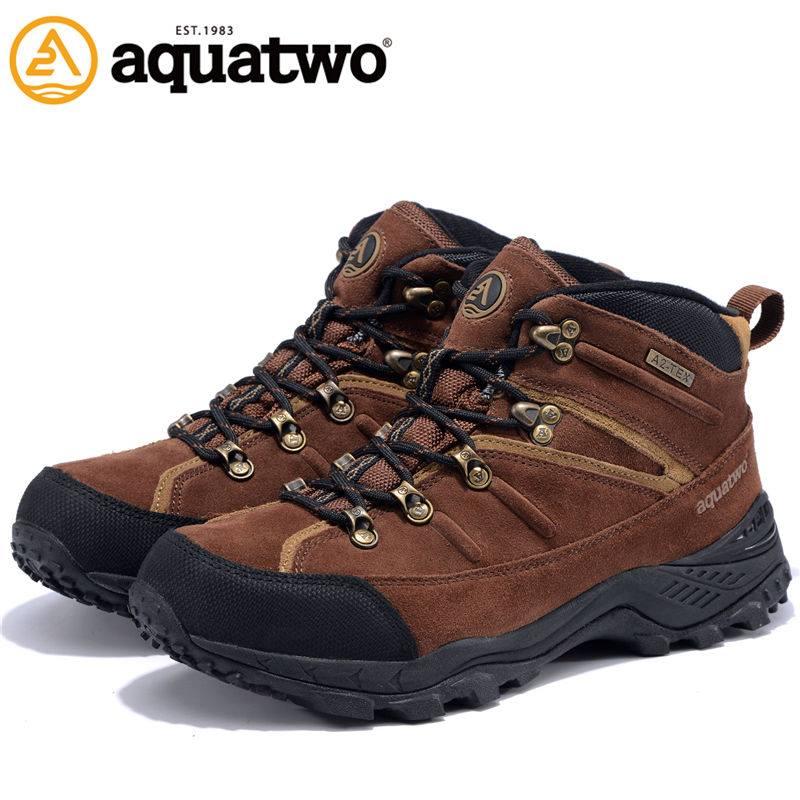 รองเท้า AquaTwo รุ่น 934 สีน้ำตาลเข้ม