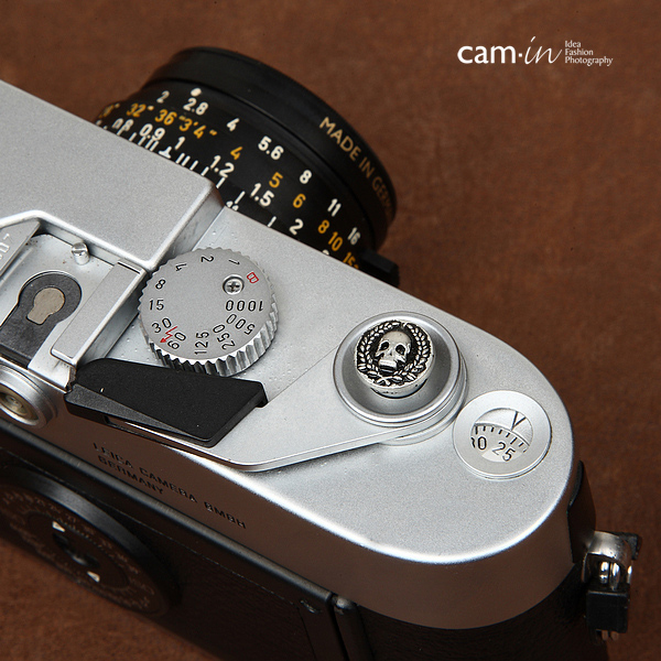 Soft Shutter Release Button รุ่น 10 mm ลายสวยๆ หัวกะโหลก ใช้กับ Fuji XT20 XT10 XT2 XE2 X20 X100 XE1 Leica ฯลฯ