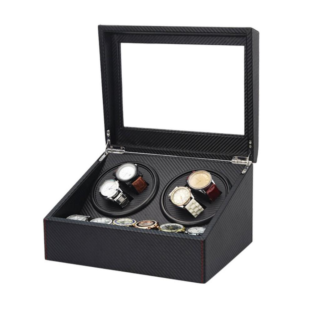 Watch Winder 4 เรือน กล่องเก็บนาฬิกา กล่องหมุนนาฬิกา