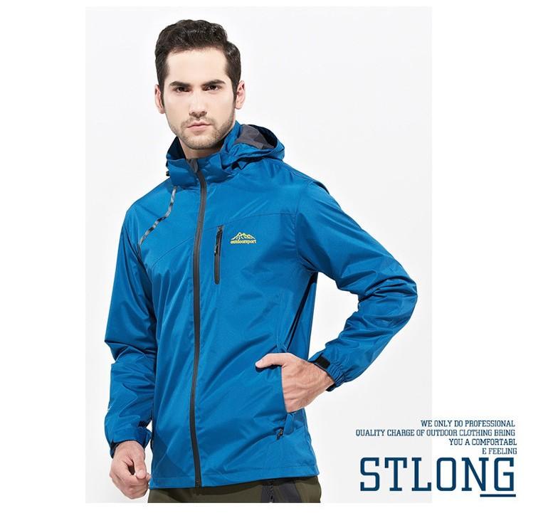 Jacket Outdoor S15 สีน้ำเงิน