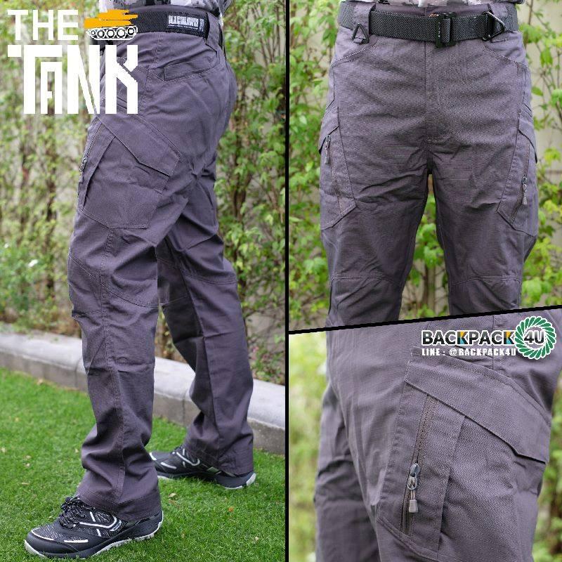 กางเกงยุทธวิธี รุ่น ix9c (เคลือบกันน้ำ) สีเทา