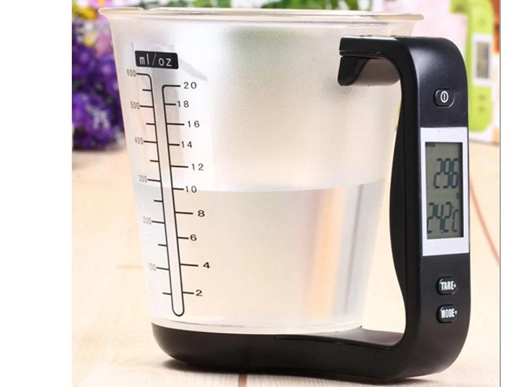 เครื่องชั่งดิจิตอลถ้วยตวง 1kg/1g