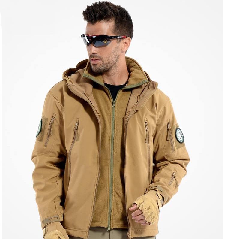 เสื้อแจ็คเก็ตสไตล์แทดเกียร์ สีทราย