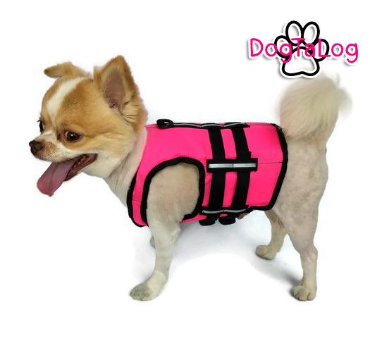 เสื้อชูชีพสุนัขแบบเสื้อกล้าม เบอร์ 1