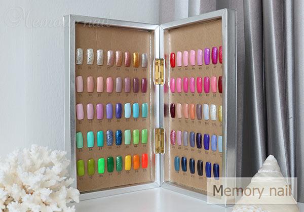 กล่องตัวอย่างสีเจล,กล่องตัวอย่างสี