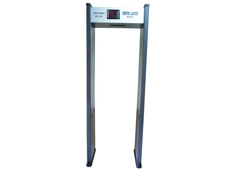 New Version เครื่องตรวจจับโลหะ สแกนโลหะ แบบเดินผ่าน walk through metal detector