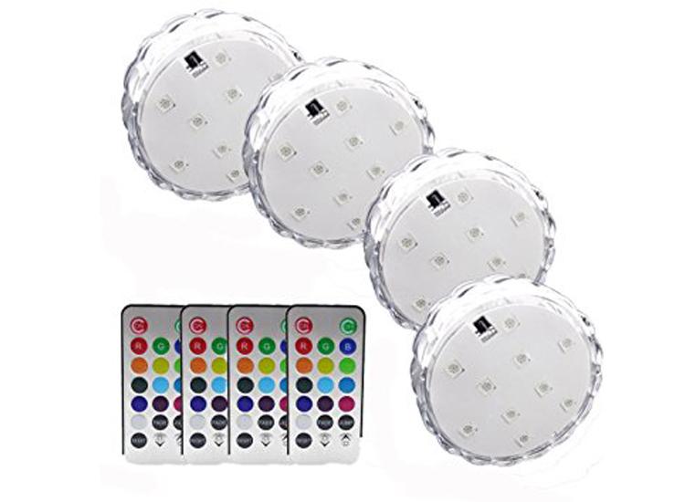 โคมไฟใต้น้ำ LED with remote