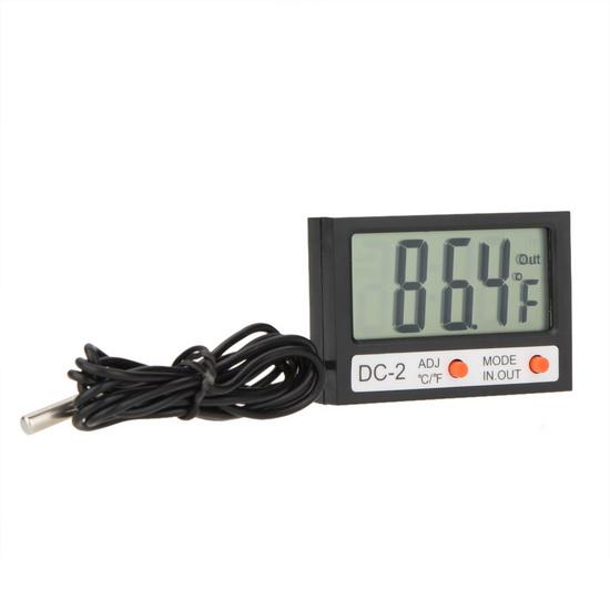 เครื่องวัดอุณหภูมิจิ๋วมีสาย -50 to 70 °C (DC-2)