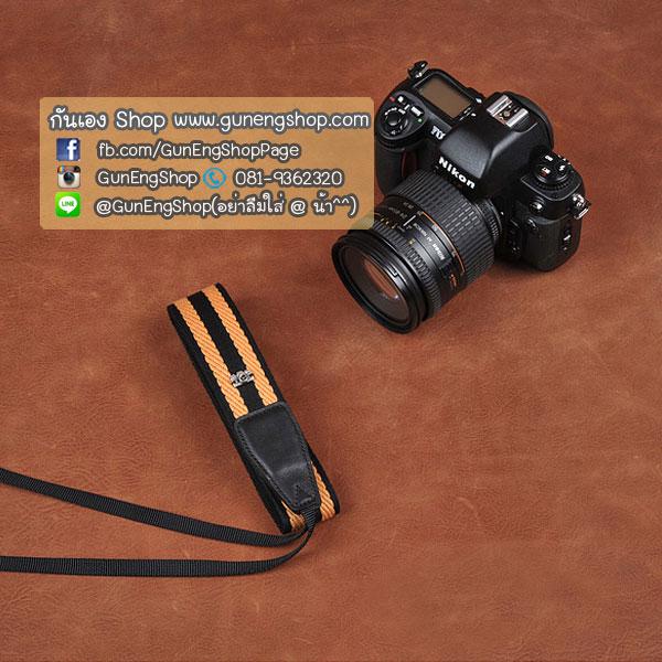 สายกล้องคล้องคอ cam-in Twist Rope-YellowNavy