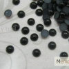 มุกติดเล็บ กลม สีดำ ขนาด 3 มิล