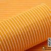 ผ้าสักหลาด พิมพ์ลายเส้น สีส้มอ่อน