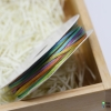 เชือกหางหนู สีรุ้ง [N15] ขนาด 2 มิล [อย่างดี เนื้อนุ่ม]
