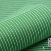 ผ้าสักหลาด พิมพ์ลายเส้น สีเขียว
